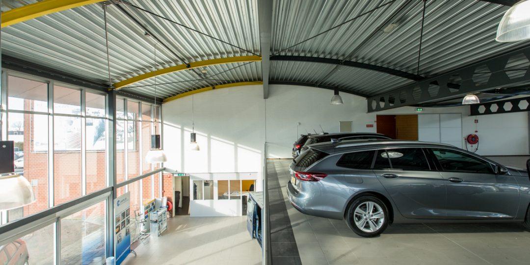 Interceil plafond spuiten